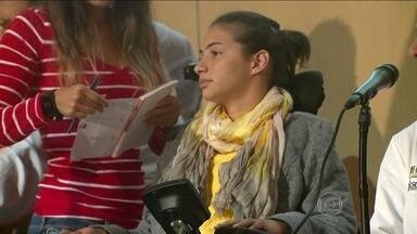 Médico fala sobre tratamento de Laís Souza para recuperar os movimentos após acidente - Atleta sofreu um acidente em janeiro e ficou tetraplégica.