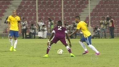 Para construir time olímpico, Gallo testa seleção brasileira sub-21 em amistosos - Equipe enfrenta equipe sub-23 da Palestina. Jovens, que se destacam nos times, buscam espaço com a camisa amarela