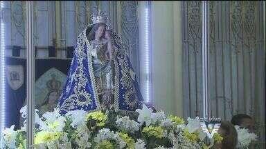 Fiéis se preparam para festa de Nossa Senhora do Monte Serrat - Dia da padroeira será comemorado na próxima segunda-feira (8)