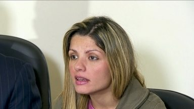 Auxiliar de produção fala pela primeira vez sobre cotovelada que sofreu - Fernanda Santiago foi agredida e teve traumatismo craniano. O agressor está preso e vai responder por tentativa de homicídio qualificado.