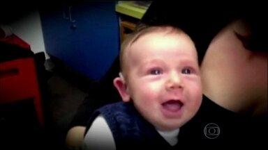 Veja o momento em que crianças que nasceram surdas escutam pela primeira vez - O vídeo mostrando um bebê australiano escutando pela primeira vez, com a ajuda de um aparelho, foi visto mais de 6 milhões de vezes na internet. Ele nasceu com deficiência auditiva. Conheça casos semelhantes no Brasil.