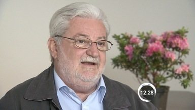 Link Vanguarda entrevista candidatos ao governo de São Paulo - Gilberto Natalini (PV) é entrevistado.