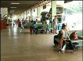 Rodoviária de Araguaína tem pouco movimento no fim do feriado - Rodoviária de Araguaína tem pouco movimento no fim do feriado.
