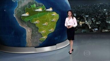 Sábado (13) vai ser de calor em todo o Brasil - Palmas e Cuiabá terão temperatura de quase 40ºC. Faz sol em quase todo o país.