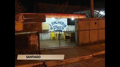 Homem é morto em Santiago (RS) - A vítima foi morta com um tiro no peito na noite de ontem.