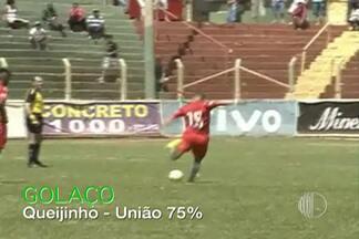 Meia Queijinho, do União Mogi, vence o Pacotão da rodada - Falta cobrada pelo jogador teve 75% dos votos dos internautas
