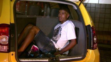 Posto de combustível é assaltado pela segunda em menos de uma semana em Foz - A polícia conseguiu prender o assaltante.