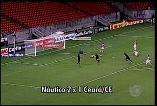 Náutico volta a vencer na 22ª rodada da série B do Brasileirão - A partida foi contra o Ceará na Arena Pernambuco