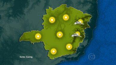 Temperaturas aumentam em Minas - Veja a previsão do tempo