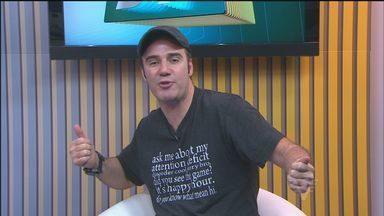 Diogo Portugal apresenta novo show de stand-up comedy em Santos - Vídeos do humorista são os mais procurados na internet.