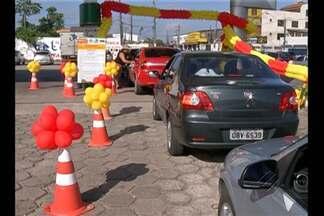 Motoristas de Belém e região metropolitana compraram combustível sem imposto - A economia foi de até 60% no preço do produto. O consumidor comemorou a iniciativa.