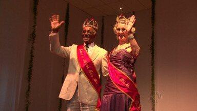 Erasmo Carlos é atração no Festival da Melhor Idade em Guarapuava - Na primeira noite do festival foram escolhidos rei e rainha. Neste sábado tem grande baile.