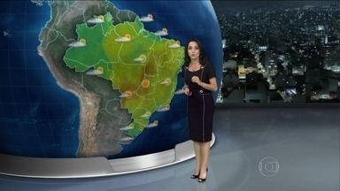 Veja a previsão do tempo para todo o país - Confira a previsão do tempo para este domingo (14) em todo o Brasil.