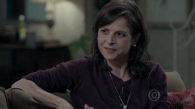 Cora convence Severo e Magnólia a participarem de plano contra o Comendador - Magnólia exige dinheiro adiantado da tia de Cristina para cooperar