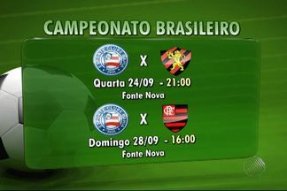 Bahia se concentra em vencer os jogos em casa para escapar da zona de rebaixamento - Confira as notícias do tricolor baiano.