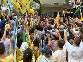 Candidato Aécio Neves vem a SC e participa do painel RBS - Candidato Aécio Neves vem a SC e participa do painel RBS