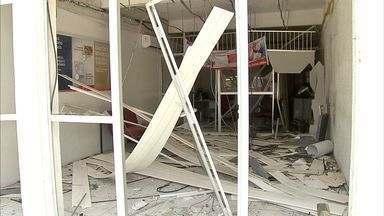 Grupo explode agência bancária de Itatira, no Ceará - Ação dos bandidos assustou os moradores da cidade da Região do Sertão Central.