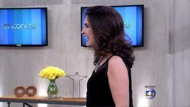 Fátima anuncia Luiza Possi como a nova parceira do Encontro - Cantora se juntará à apresentadora a cada duas semanas