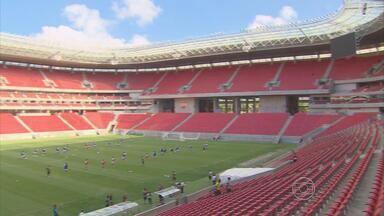Santa Cruz aposta no bom retrospecto na Arena PE para vencer o Boa Esporte - Em três jogos este ano no estádio, tricolores ganharam dois e empataram um