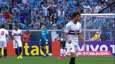 São Paulo vence o Gremio em jogo movimentado no Sul - Confira todos os detalhes da vitoria por 1 a 0 do Tricolor, com gol de Rogerio Ceni
