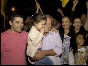 Eleitos comemoram resultados das eleições - Mauro Bragato, Ed Thomas e Reinaldo Alguz conseguiram vaga na Alesp.