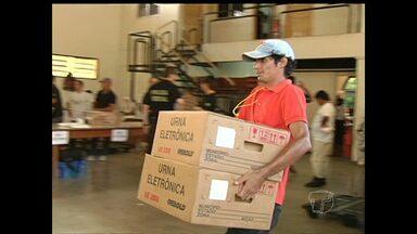 Apuração encerrou às 20 horas em Santarém - Algumas urnas apresentaram problema durante o dia.