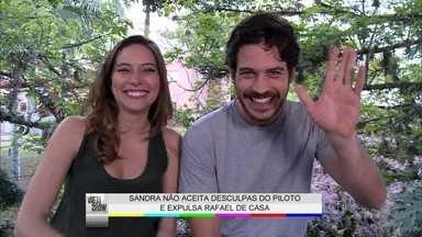 Marco Pigossi comenta momento de Rafael em Boogie Oogie - Personagem levou um pé na bunda de Sandra na novela das 6