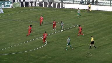 Caxias e Juventude são eliminados na Série C do Brasileirão - Caxias perdeu, e Juventude ganhou, mas não avançou para a próxima fase.