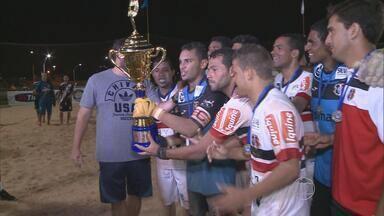 Santa Cruz vence a etapa de São Luiz do Circuito Brasileiro de Futebol de Areia - Tricolores fizeram bonito no último sábado