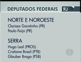 Confira os deputados eleitos no interior do Rio de Janeiro - Confira os deputados eleitos no interior do Rio de Janeiro. está liberado. até cinco mil pessoas. para fortaleza estádio liberado. dia 19.