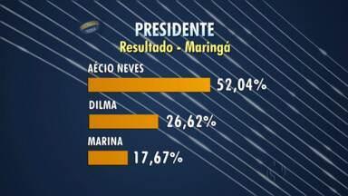 Veja os números das Eleições 2014 em Maringá - Nos mostramos o percentual de votos para Governador, Senador e Presidente da República na cidade