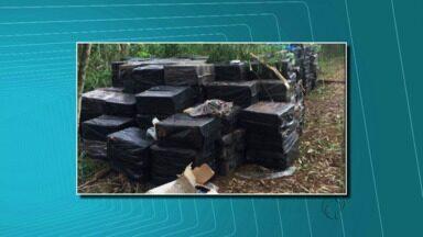 Polícia Federal faz duas apreensões grandes na região de Foz - Um rapaz de 19 anos foi preso.