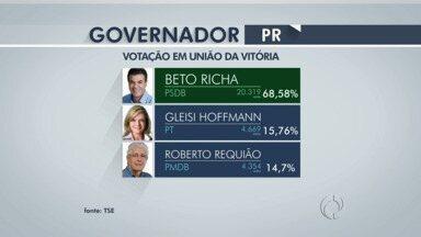 Como ficaram as votações para presidente, governador e senador em União da Vitória e Irati - Aécio Neves do PSDB foi o candidato mais votado nas cidades.