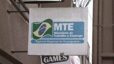 Agência do MTE de Guarapuava voltou a atender hoje - A agência estava fechada desde o dia três de setembro por falta de funcionário. Com isso o trabalhador já pode pedir e retirar a carteira de trabalho, ou dar entrada em recurso para resolver pendências com o seguro-desemprego.
