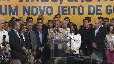 Geraldo Alckmin, do PSDB, é reeleito governador de São Paulo - Atual governador superou outros oito concorrentes ao cargo.