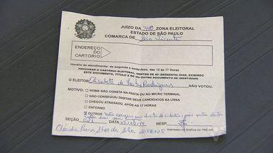 Moradora de São Vicente não vota, pois alguém usou a urna eletrônica em seu lugar - Erro acabou impedindo a eleitora de votar em 2014.