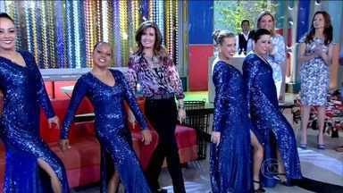 Confira algumas dancinhas da Fátima - Veja alguns dos ritmos que a apresentadora já dançou no programa