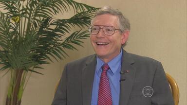 Ganhador do Nobel recebe notícia do prêmio no Recife - William Moerner estava participando de um congresso na Universidade Federal de Pernambuco quando recebeu a notícia da premiação.