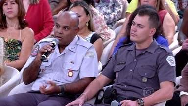 Capitão explica 'arrastão' no Morumbi, SP - Policial diz que três adolescentes usavam imitações de armas