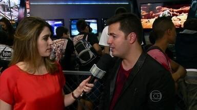 Encontro vai a maior feira de videogame da América Latina - Confira os bastidores do evento