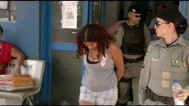 Suspeitos de explodir caixas eletrônicos são presos em Valparaíso - Uma mulher e dois homens foram presos no setor de chácaras, em Valparaíso. Segundo a PM, o grupo estava com R$ 47 mil.