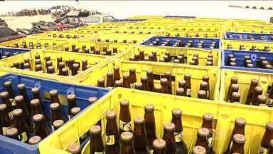 Polícia de Balsas apreende mais uma carga de bebida alcoólica - A polícia de Balsas apreende mais uma carga de bebida alcoólica, que chegou à cidade sem nota fiscal. É a quarta apreensão somente este ano.A bebida estava sendo vendida por um preço abaixo do mercado.