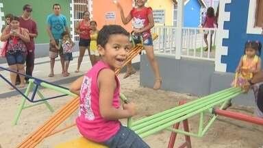 Atividades recreativas animam Dia das Crianças em Manaus - Durante o dia, várias programações gratuitas foram realizadas.
