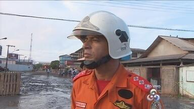 Incêndio destrói distribuidora no Buritizal. Corpo de bombeiros tem mais informações - Incêndio destrói distribuidora no Buritizal. Corpo de bombeiros tem mais informações