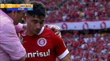 Futebol: Alex desabafa sobre pressão no esporte após jogo contra Fluminense - O meia fez um dos gols do Internacional, na partida contra Fluminense, que acabou por 2 a 1.