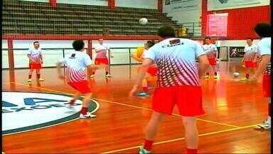 Atlântico estreia na segunda fase da Liga Nacional de Futsal - Jogo será contra o Blumenau.