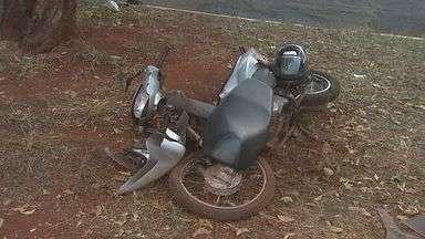 Motociclista fica em estado grave após acidente em Ribeirão Preto - Vítima foi atingida por carro na Avenida Paris e foi encaminhada com ferimentos graves para a Unidade de Pronto Atendimento (UPA).