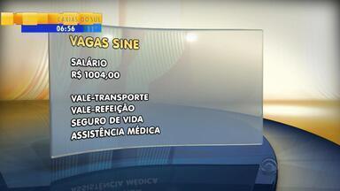 Agência do Sine tem 30 vagas abertas - As vagas são para agentes de vendas de serviços em Porto Alegre, Região Metropolitana, Vale dos Sinos.