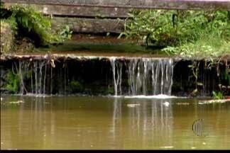 Estiagem atinge propriedades turísticas do Alto Tietê - Em alguns lugares as nascentes são preservadas.