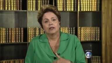 Jornal Nacional entrevista a presidente reeleita Dilma Rousseff - Jornal Nacional entrevista a presidente reeleita Dilma Rousseff.